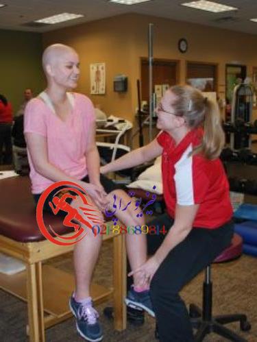 کمک به تحرک بیمار مبتلا به سرطان در فیزیوتراپی سرطان